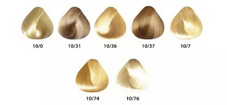 краска эстель сильвер для седых волос палитра №3