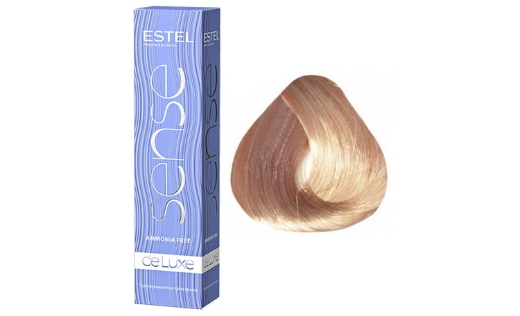 краска для волос эстель делюкс палитра