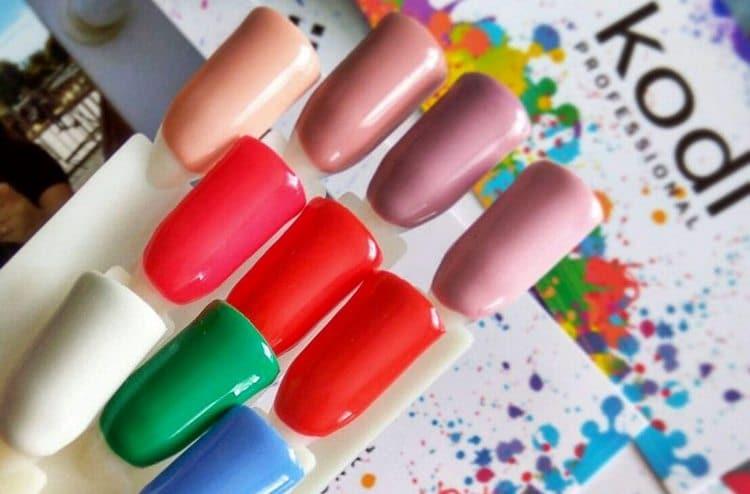 В состав гель-лака Коди сходит много полезных для ногтей веществ.