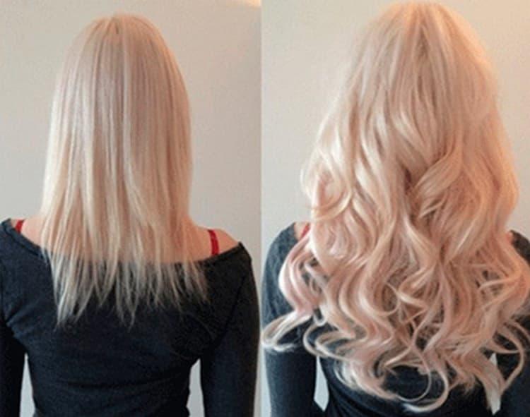 Такая техника позволяет также при желании красить волосы.