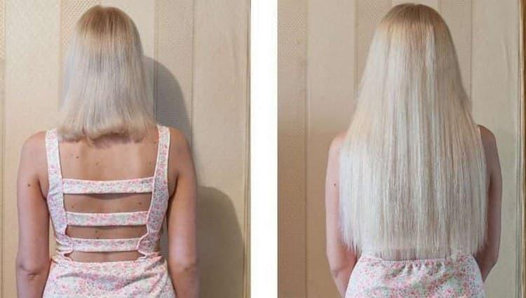Посмотрите также видео о голливудском наращивании волос.