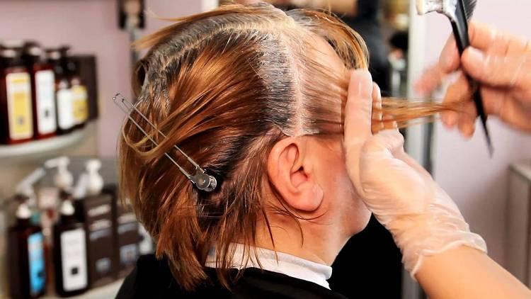 Узнайте, как часто можно красить седые волосы краской.
