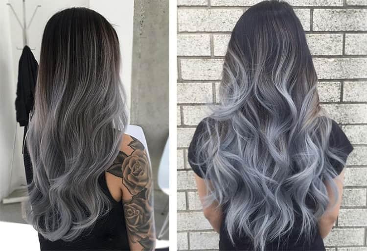 Посмотрите оригинальные варианты, как покрасить волосы в два цвета.
