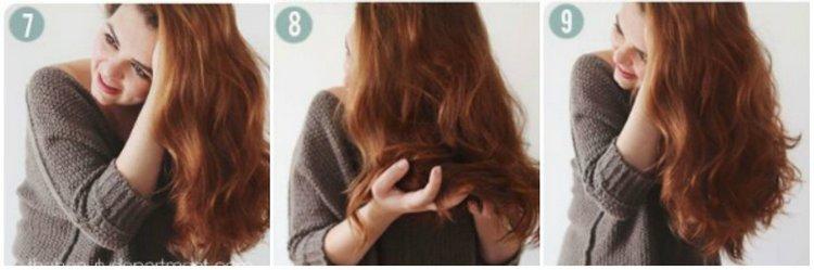Когда волосы высохнут, они станут волнистыми.