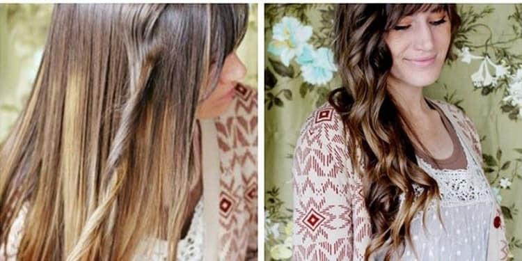 теперь вы знаете, как накрутить волосы с помощью утюжка.