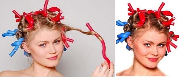 Мягкие бигуди особенно удобны, если вы собираетесь накрутить на них волосы на ночь.