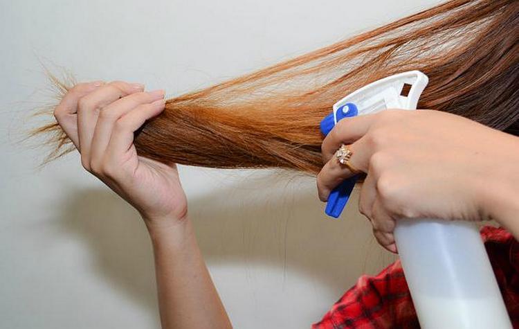 если не знаете, чем можно выпрямить волосы без утюжка, обратите внимание на обыкновенное молоко!