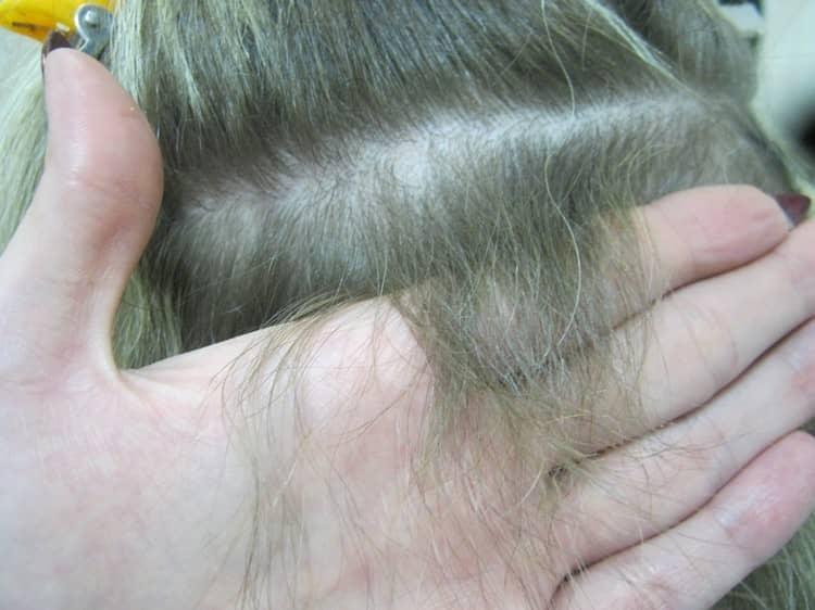 дафф, волосы после наращивания фото последствия нету