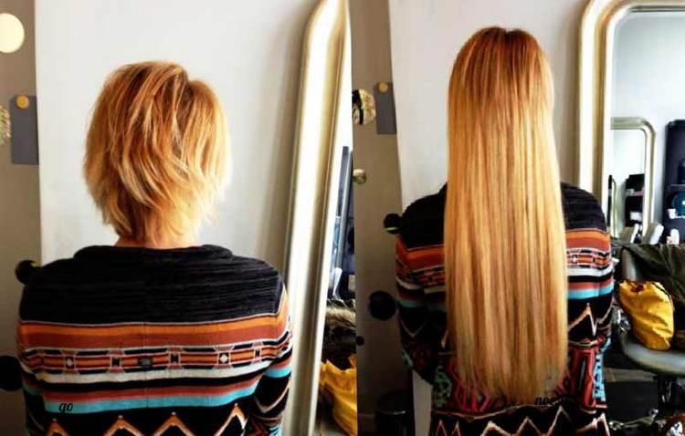 Посмотрите также видео о капсульном наращивании волос.