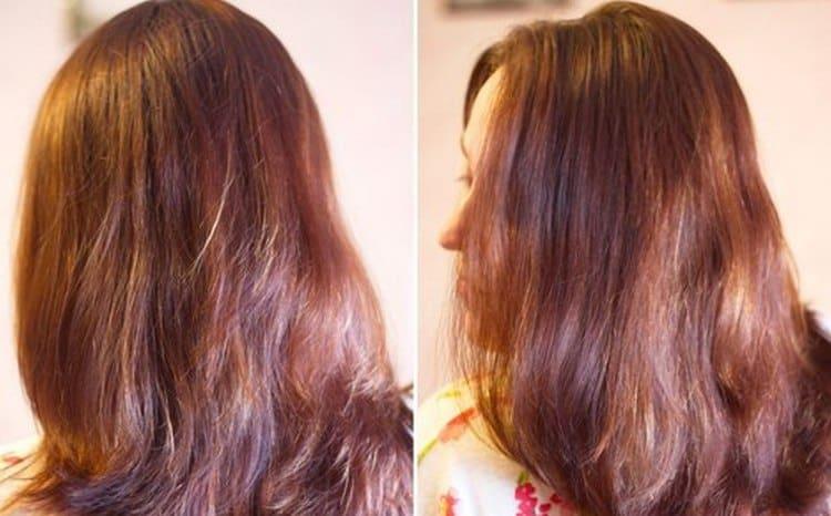 Краска отлично закрашивает волосы.