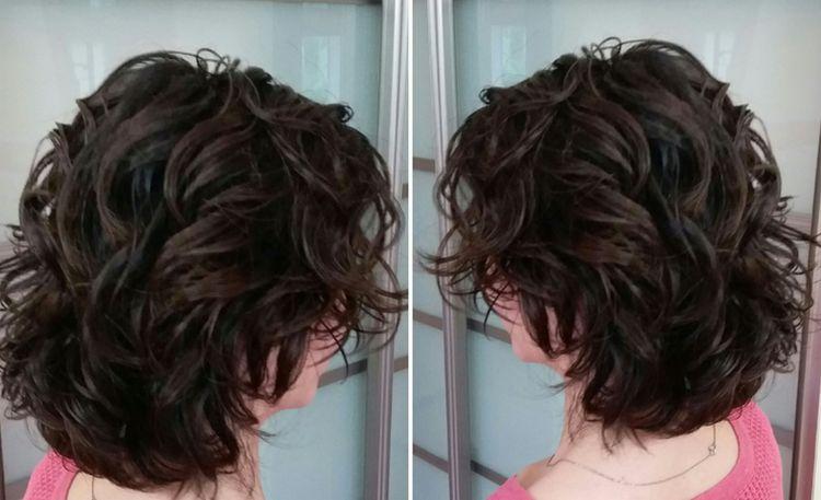 Посмотрите фото прически карвинг на короткие волосы.