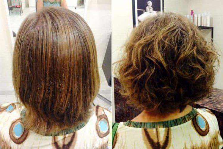 Почитайте отзывы о процедур карвинг на короткие волосы.