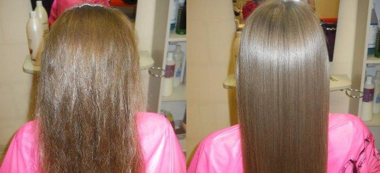 Узнайте все плюсы и минусы кератинового выпрямления волос, почитайте отзывы о процедуре.