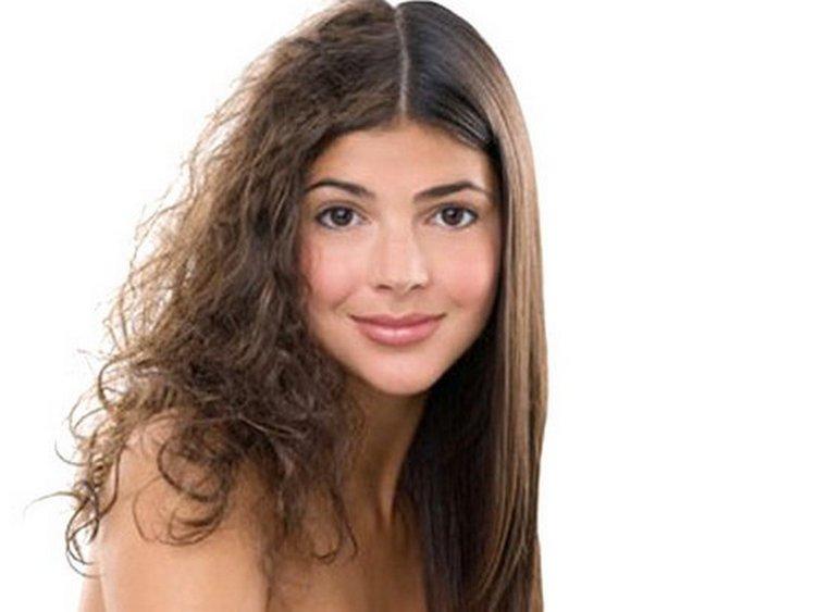 важно понимать, что кератиновое выравнивание практически избавляет вас от объема волос.