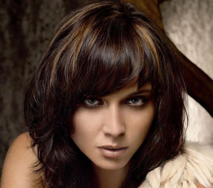 Этот вариант окрашивания волос подходит практически всем возрастам.