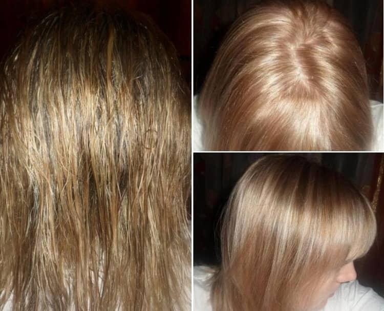 Посмотрите отзывы о краске для волос Эстель лове.