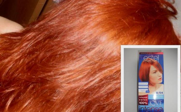 Почитайте отзывы о краске для волос Эстель просеффионал.
