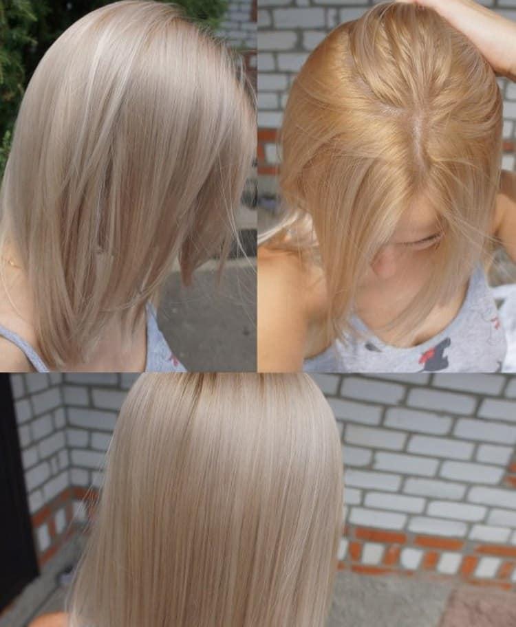 Почитайте отзывы о краске для волос Капус без аммиака.