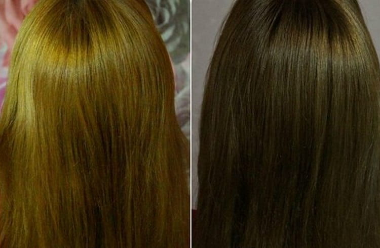Посмотрите отзывы с фото о краске для волос Капус.