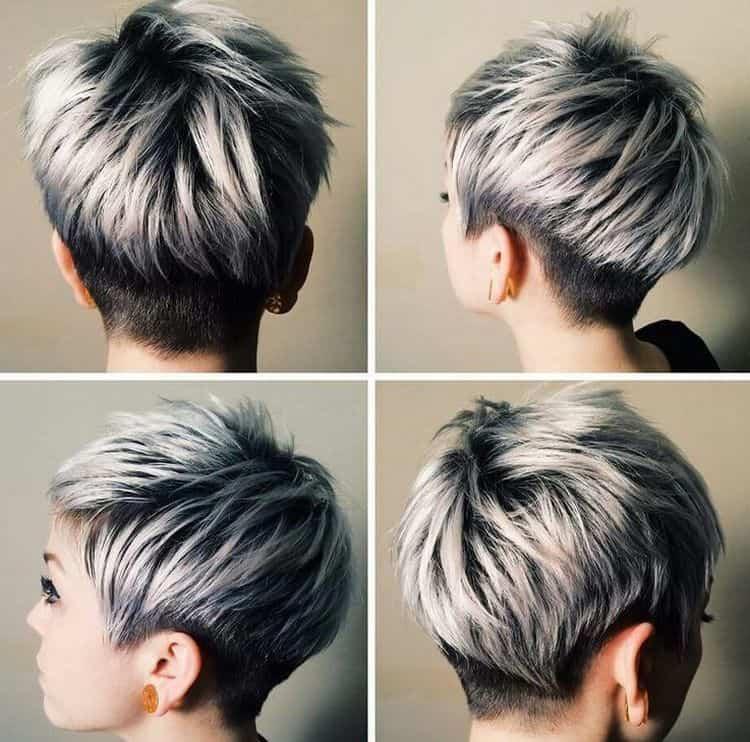 Посмотрите также видео о креативном окрашивании волос.