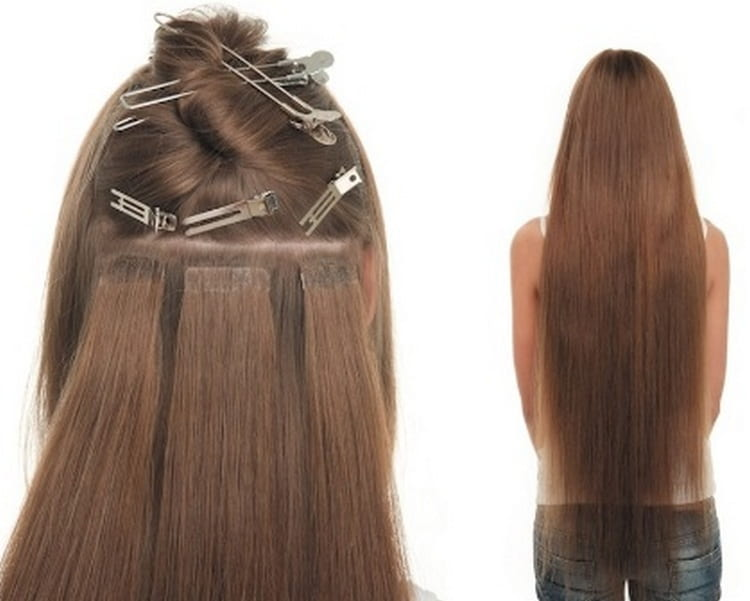 Если не знаете, что лучше: ленточное или капсульное наращивание волос, учтите тот фактор, что именно при ленточном волосы повреждаются меньше всего.