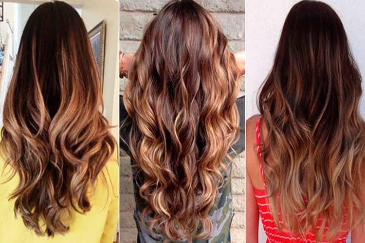 Есть очень много вариантов мелирования на темно-русые волосы.