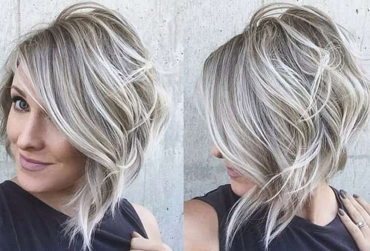 В моде также пепельное мелирование на русые волосы.