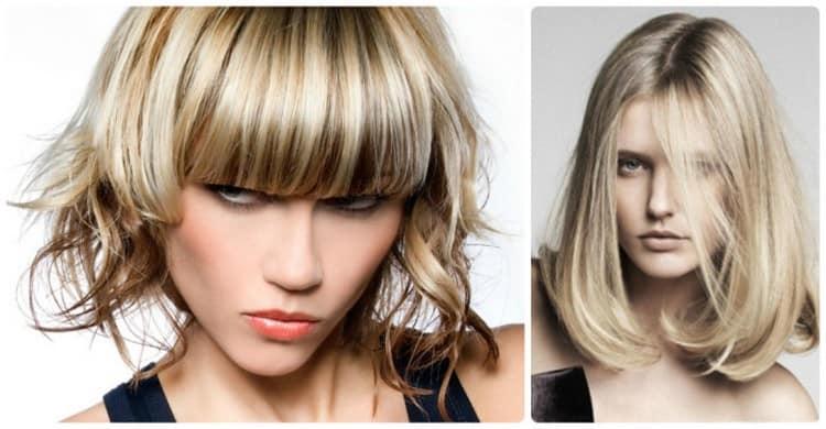 Посмотрите на фото, какие бывают виды мелирования русых волос.