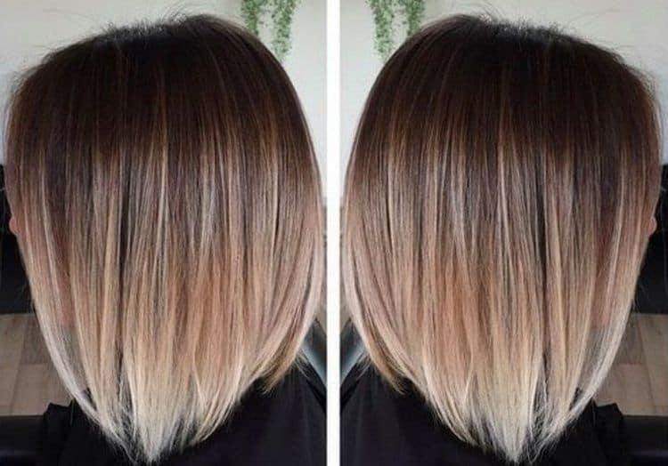 Посмотрите фото красивого окрашивания волос на короткие волосы.