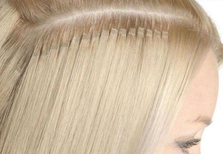 Посмотрите видео о наращивании волос на очень короткие волосы.