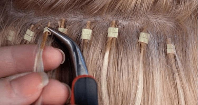 есть разные виды наращивания волос.