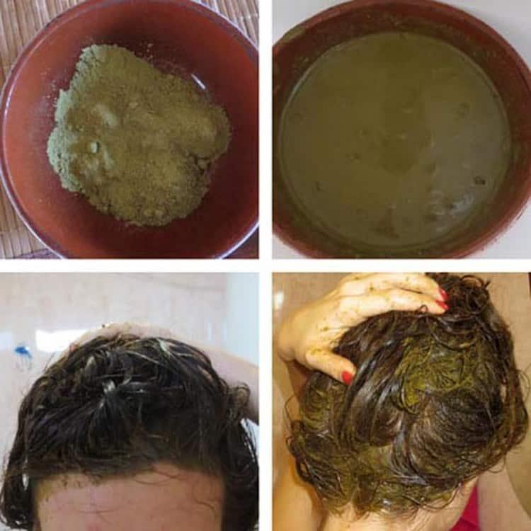 Посмотрите, как сделать окрашивание русых волос хной.