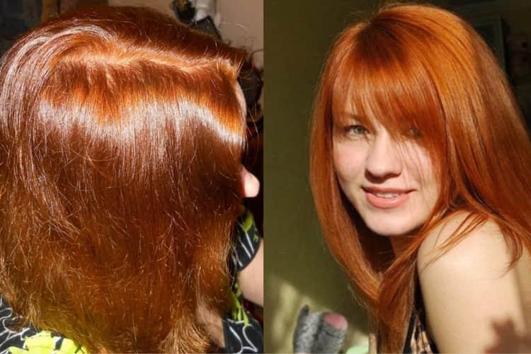 Многим девушкам и женщинам очень нравится естественный рыжий цвет волос, который можно получить после использования хны.