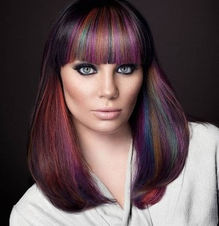 здесь началось как покрасить волосы в два цвета фото главных всеми любимых