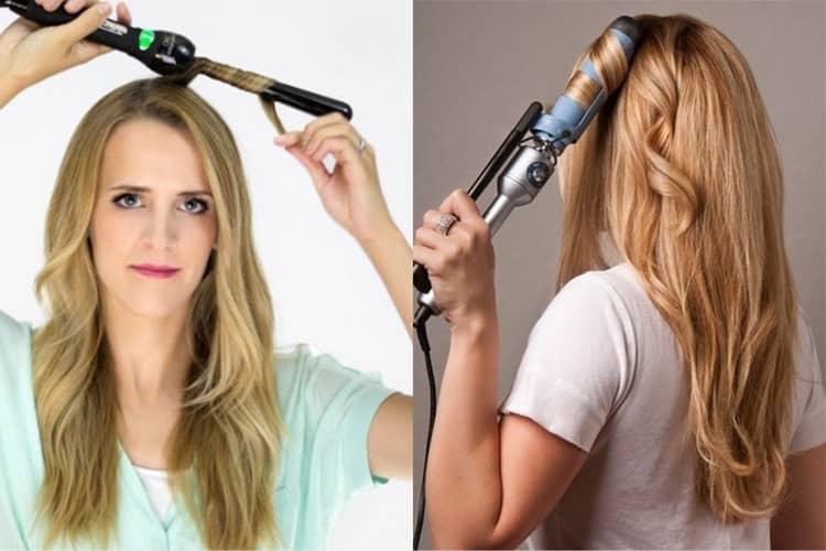 Узнайте, как правильно завивать волосы плойкой.