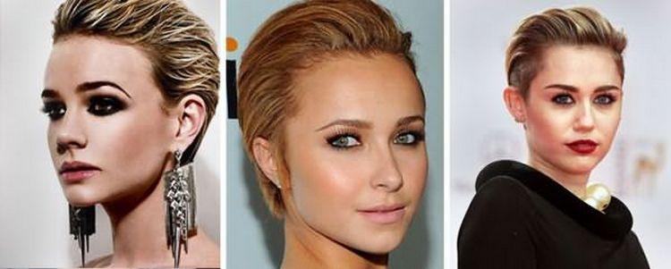 Многим девушкам нравятся гладко уложенные короткие волосы.