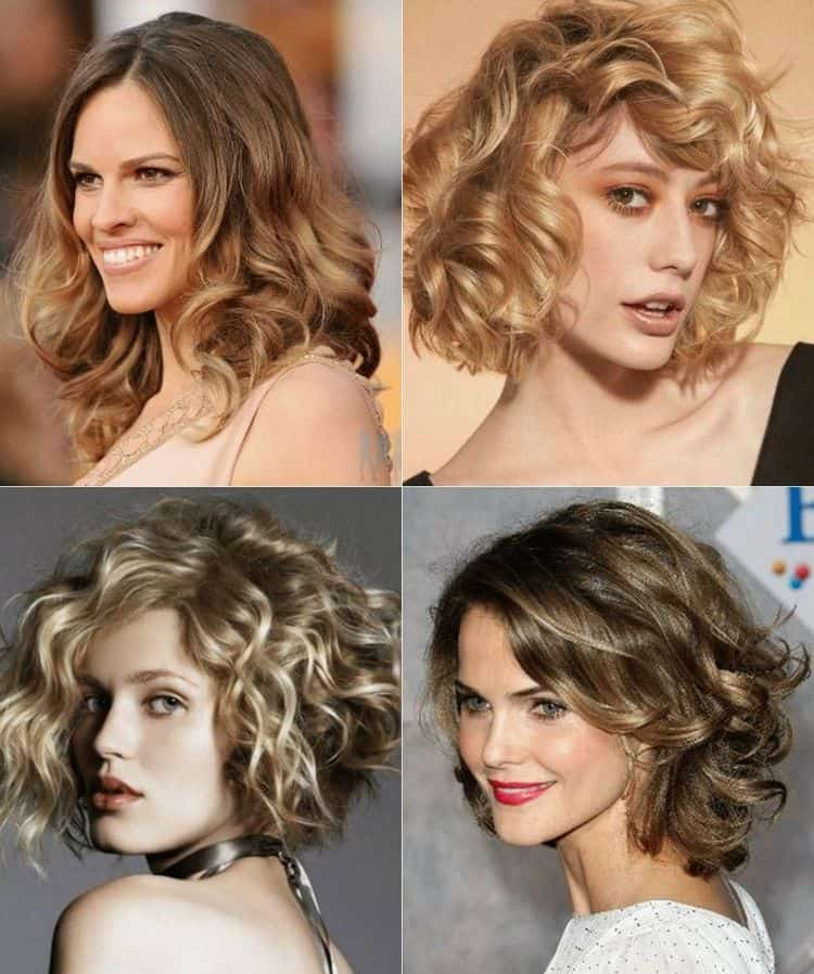 Для коротких волос до подбородка актуальными будут и волны.