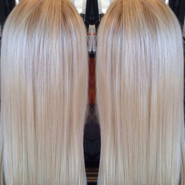 судя по отзывам, хороший шампунь для окрашенных волос это Эстель.