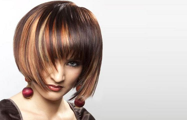 А вот фото сложного окрашивания волос на короткие волосы.