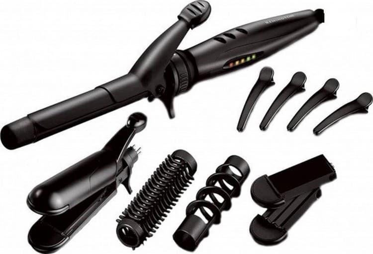 Стайлер можно использовать для завивки как коротких, так и длинных волос.