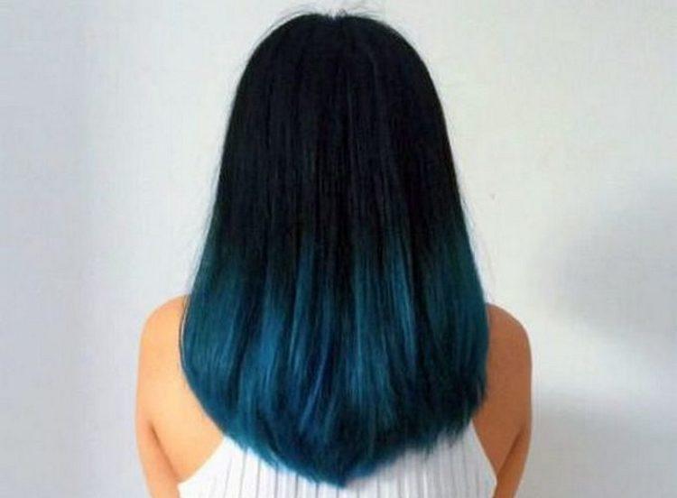 Многим девушкам нравится использовать более яркие цвета для окрашивания волос в стиле омбре.