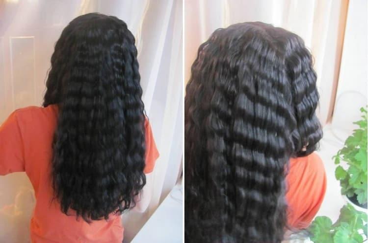 Почитайте отзывы об использовании тройной плойки для волос.