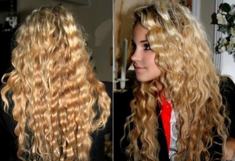 Посмотрите фото причесок, созданных при помощи тройной плойки для волос.