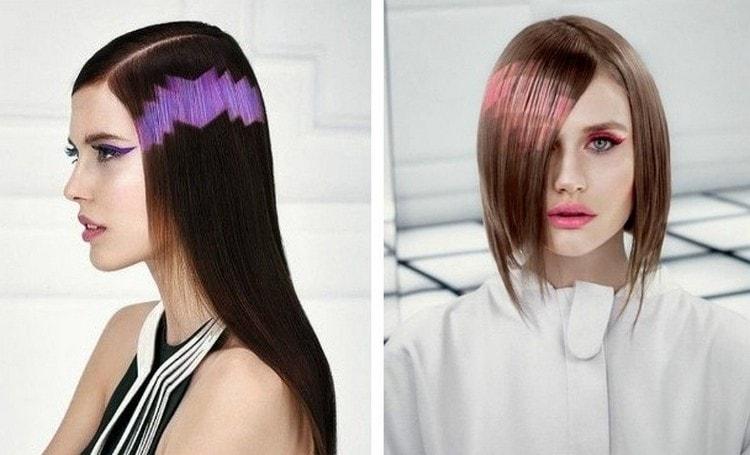 Среди современных видов окрашивания волос выделяется пиксельное окрашивание.