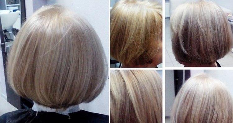 Посмотрите также видео о технике мраморного окрашивания волос.