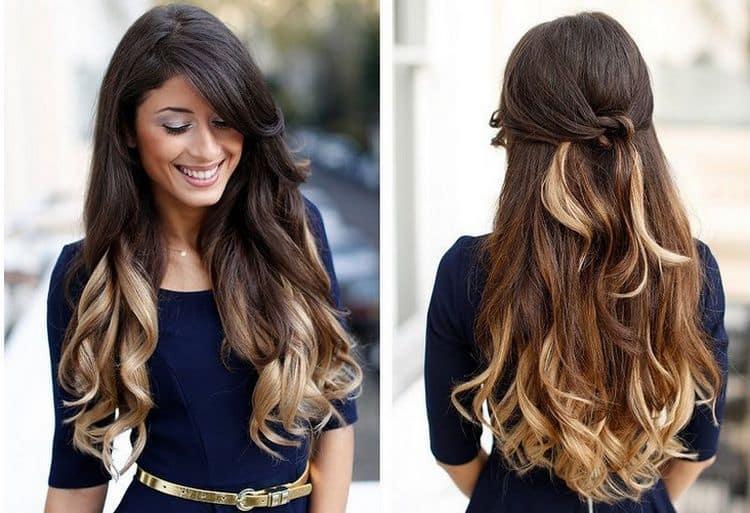 Посмотрите фото видов окрашивания волос с названием цвета.