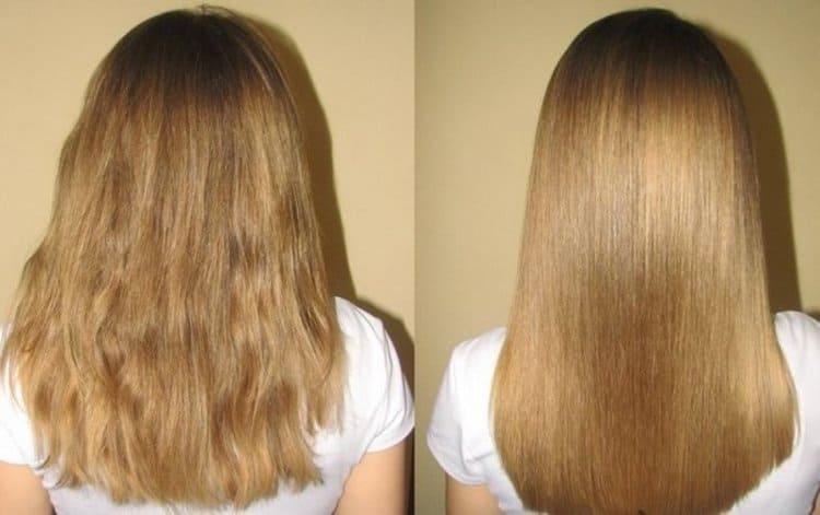 Использовала масляные витамины А и Е для волос.