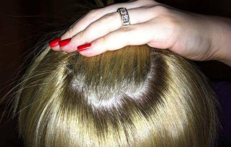 Волосы приобретают красивый естественный блеск.