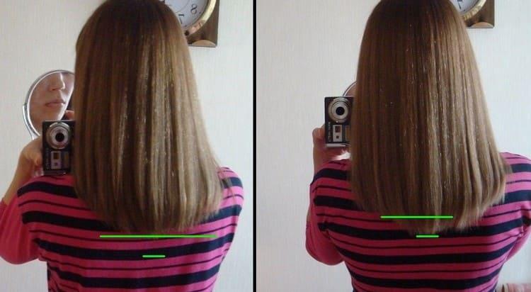 Производитель обещает усиленный рост волос после курса приема препарата.
