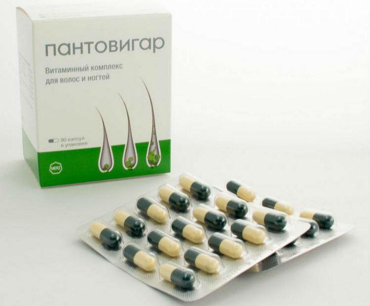 А вот еще одни качественные витамины для роста и укрепления волос.